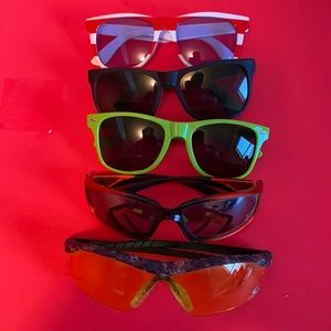 5 for 6 mix of sunglasses and safety glasses